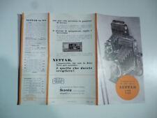 Zeis Ikon Nettar, the device. 1:6,3. 1:4,5, Folding Advertising, 1934