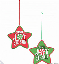 1 Find Joy In Jesus Ornament***Free S/H when u buy 6 items from my store
