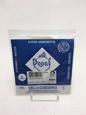 More details for dogal cello 4/4 string g-3 blue concerto b503