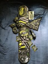 GNU Snowboard 153cm and Swag 1 of only 6 made specifically for the Grenade Games