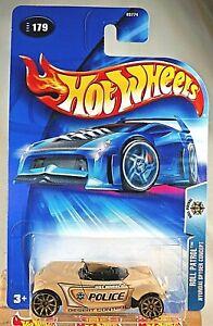 2004 Hot Wheels #179 Roll Patrol HYUNDAI SPYDER CONCEPT Tan w/Gold 10 Spoke Whls