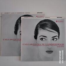 2 LP/set - Callas - Lucia Di Lammermoor - Tullio Serafin - Columbia SAX2316/17
