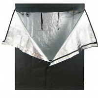 "48""x48""x78"" Grow Tent Reflective 600D Mylar Hydroponic Non Toxic Hut Indoor Room"