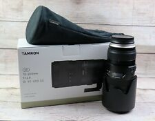 Tamron SP 70-200mm f/ 2.8 Di VC USD G2 Filter Size: 077mm For Canon EF Lens Used