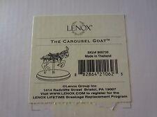 Lenox Carousel Goat #805730 NEW in Box