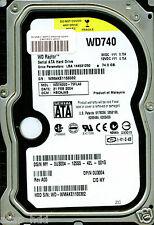 WESTERN DIGITAL SATA 74GB WD740GD-75FLA0 DCM: HBCAJAB