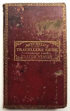 S Augustus Mitchell / Mitchell's Travellers Guide through the United States 1834