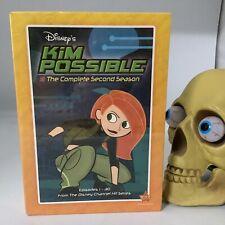 KIM POSSIBLE The Complete Second Season 2 (ORIG U.S. DVD, SEALED) Kids TV Show