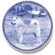 Norwegian Buhund - Dog Plate made in Denmark from the finest European Porcelain