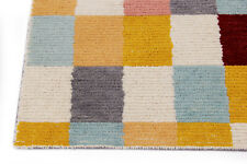 Handmade Multi Color Modern Wool Area Rug 8' x 10'