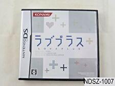 Love Plus Nintendo DS Japanese Import NDS LovePlus Love+ Japan JP US Seller A/VG