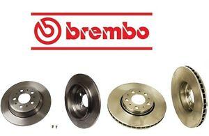 For Volvo V70 2004-2007 2.4L 2.5L Brembo Full Front & Rear Brake Rotors Kit