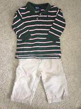 Lot of 2 RALPH LAUREN/POLO Boy Polo Shirt And Ralph Lauren Pants 18M