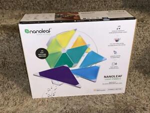 NANOLEAF Rhythm Edition Smarter Light Panel Starter Kit w/ 9 Panels