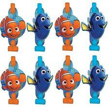 Disney Finding Dory Nemo 8-ct Birthday Blowouts Birthday Party Favors Supplies~