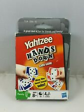 (E) Yahtzee Hands Down Card Game, Hasbro 2009, New Old Stock