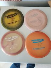 Innova Golf Disks Champion Shark,Viking And Valkrie And One Other