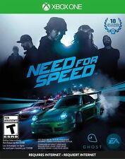 Need For Speed [Xbox One, XB1, Sports Cars Urban Racing] NEW