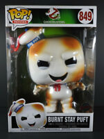 "Funko POP Ghostbusters Burnt Stay Puft 10"" Vinyl Figure #849 Unopened RARE"