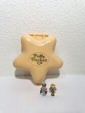 ⭐️1992 Vintage Polly Pocket Hollywood Hotel 100% Complete Super Star Polly 🎸🪐