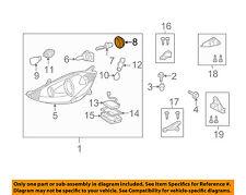TOYOTA OEM 04-10 Sienna Headlight Head Light Lamp-Socket Cover 81139AE020