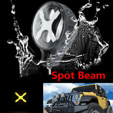"6"" 60W Round White LED Auxiliary Spot Light DRL Fit for JEEP Truck off-road Boat"