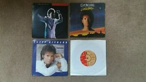 """Cliff Richard - 4 x 7"""" Singles - Silhouettes, Little Town  + 2 others"""