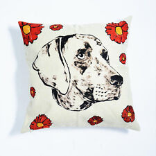 GILLIE AND MARC-direct from the artists-authentic art home wares cushion dogman