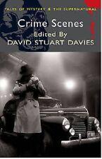 CRIME SCENES _DAVID STUART DAVIES ____ BRAND NEW ___ FREEPOST UK