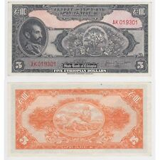 ETIOPIA - 5 DOLLARI D'ETIOPIA-PICK ref: 13b-EF.