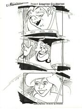 MARK SIMON Hand Drawn Disney MGM Studios Celebration Storyboard Page Signed #MS