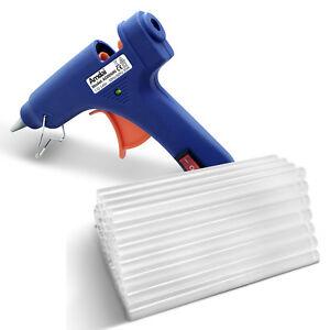 Amdai AD00690 Hot Glue Gun and Glue Sticks Bundle (50-Pack) - 20W Glue Gun