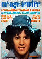 Mag 1974: GERARD LENORMAN_SYLVIE VARTAN_MIKE BRANT_FRANCE GALL_ALAIN CHAMFORT