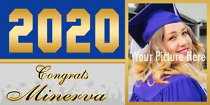 Banner Personalized Graduation 2020