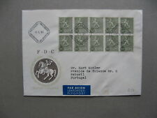 FINLAND, cover FDC 1968, 0,02 Kr block of 10