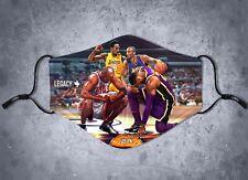Black Mamba Michael Jordan Lebron James face mask cover limited lakers bulls