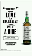 "Laphroaig ""Conjugal""poster 18 by 26"