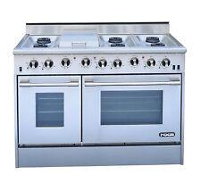 """Nxr Drgb 4801 48"""" Professional Series Gas Range 6 Burners Stainless Steel"""