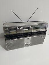 Sharp GF-555 Boombox Vintage 70s Ghettoblaster Portable Speaker and Cassette