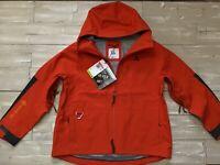 $450 Women's Nike ACG GORE-TEX Misery Ridge Jacket CV0598-891 Orange/Black LARGE