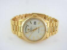 Rolex day-date President ref 1803 18 kt dorado 36 mm vintage impecable