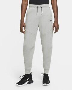 Nike Sportswear Tech Fleece Jogger Pants Sweats Grey (CU4495-063) Men's Sz L