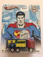 Hot Wheels Real Riders DC Comics Originals Bizarro Hiway Hauler Red/Blue Diecast