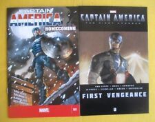 Captain America comic books - Homecoming issue #1 & First Vengeance #1