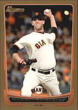 2012 Bowman Baseball Gold #42 Madison Bumgarner San Francisco Giants