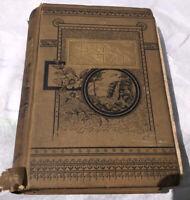 Capt Mayne Reid Illustrated 1885 Boy Tar HC Book Antique!
