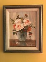 ORIG Oil/Canvas Gertrude Grigorov Painting