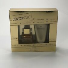 BECKHAM INTIMATELY YOURS GIFT SET WITH 30ml EAU DE TOILETTE AND 150ml LOTION