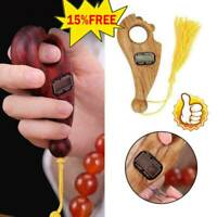 1X Digital Finger Tasbeeh Misbaha Counter for prayer Islamic Tasbih Muslim Eid