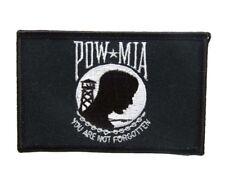 U.S. Military Pow Mia Powmia Prisoner of War Missing Action Flag Iron On Patch
